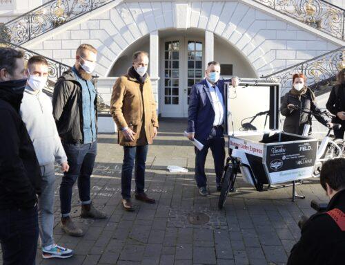 Neues Lastenrad für Bonn